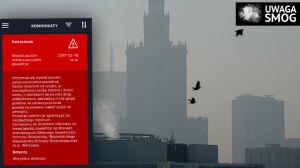 Dymy snują się po mieście. Powietrze gorsze z godziny na godzinę