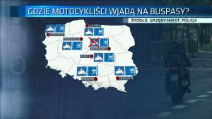 Motocykliści na buspasach? Będą zbierać podpisy