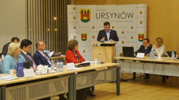 Sesja rady dzielnicy Ursynów Artur Węgrzynowicz / tvnwarszawa.pl