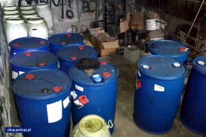 CBŚP zlikwidowało laboratorium amfetaminy