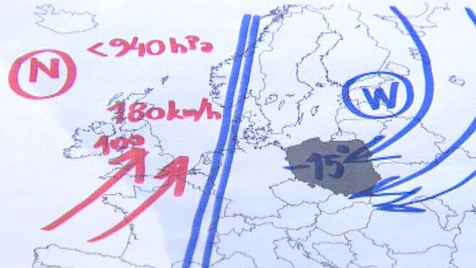 """""""W Europie jest przeciąg"""". Mróz w Polsce, <br />silny wiatr w Wielkiej Brytanii"""