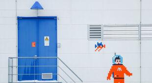 Sztuka zaisnspirowana grami wideo na ISS