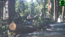Nad Lublinem przeszła nawałnica