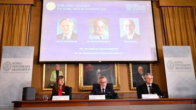 Nagroda Nobla z chemii za rewolucję w technologii magazynowania energii