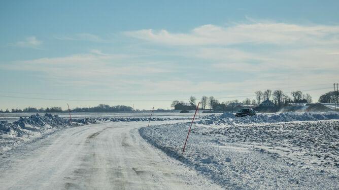Niewielki śnieg utrudni jazdę kierowcom