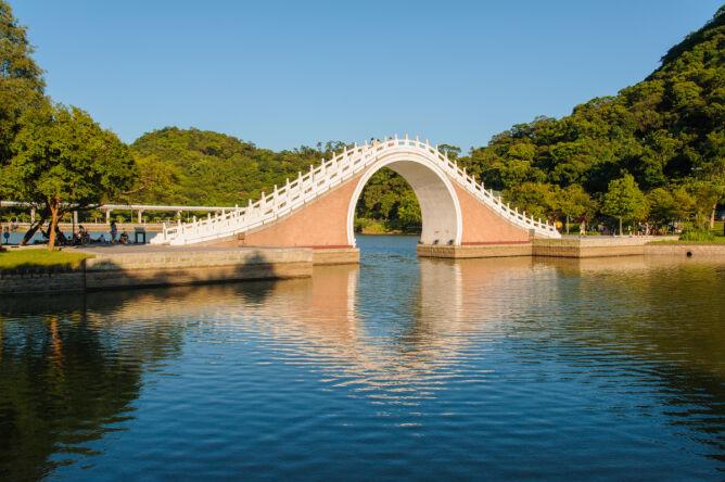 Księzycowy Most w Taipei, Tajwan