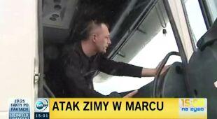 Poranna utrudnienia za Zakopiance, relacja Małgorzaty Kukuły (TVN24)