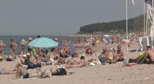 Plaża w Kłajpedzie